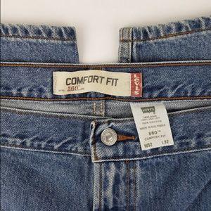 Levi's Jeans - Levis 560 comfort mens jeans 52W32L